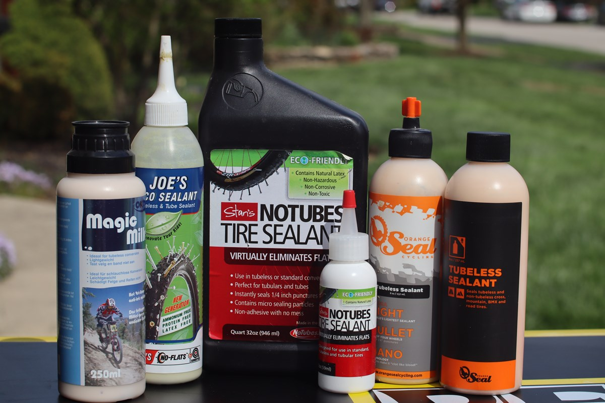 common brands of liquid tire sealant for bicycles